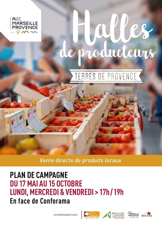 Halles Producteurs Plan de Campagne