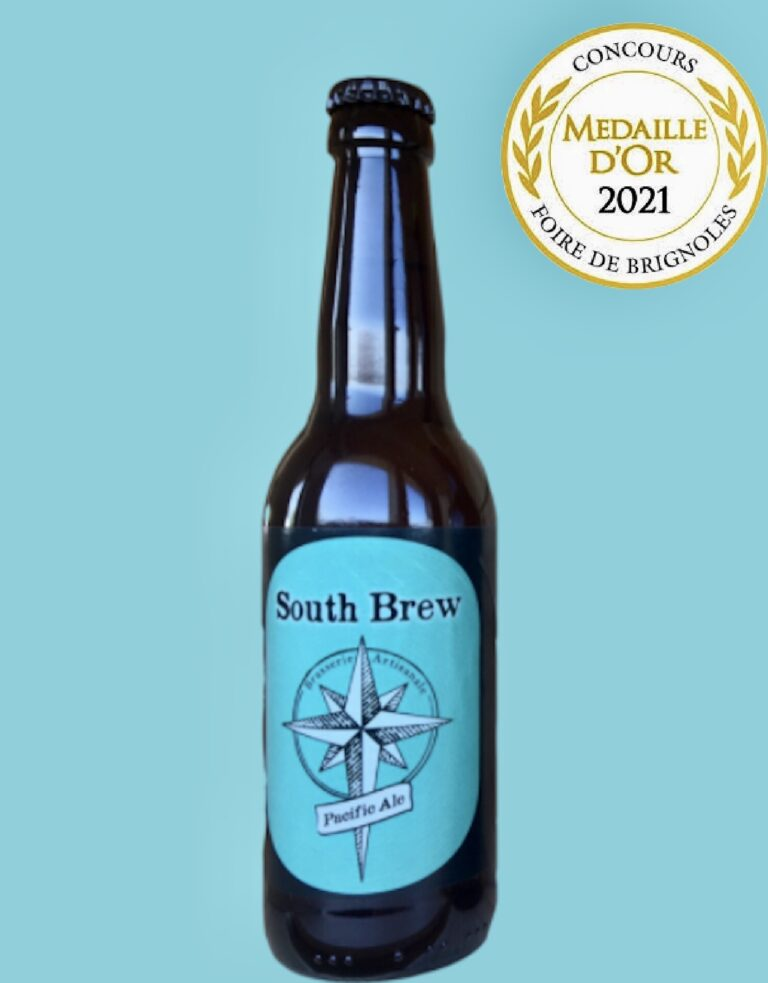 South Brew Pacific ale Médaille Or